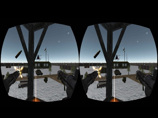 VR Gunship Rescue Helicopter Battle screenshot 7