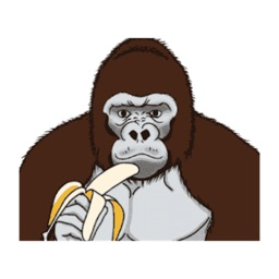 Gorilla Animated Stickers