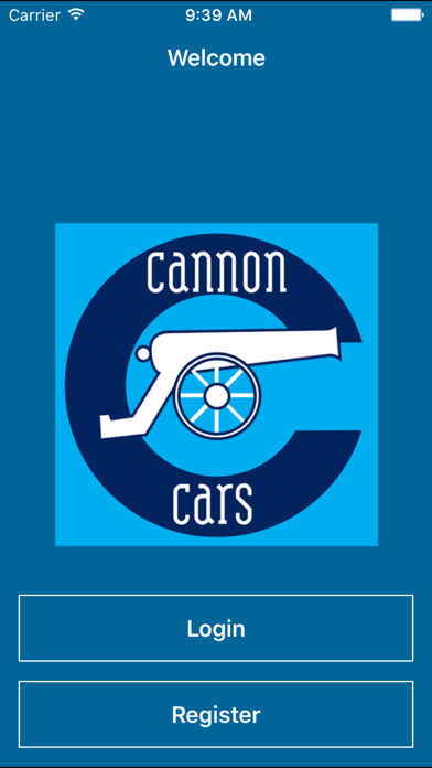 Cannon Cars- Booking App screenshot one