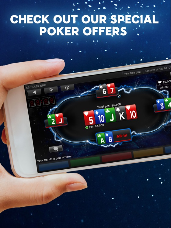 888 Poker - Texas Holdem Poker Games!