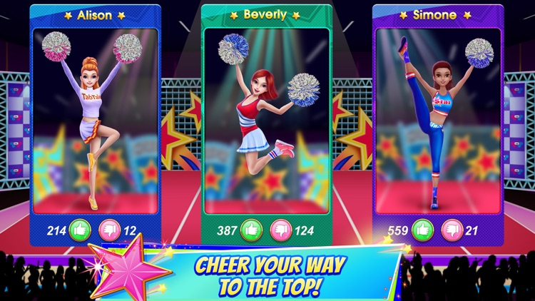 Cheerleader Champion Dance Off screenshot-3