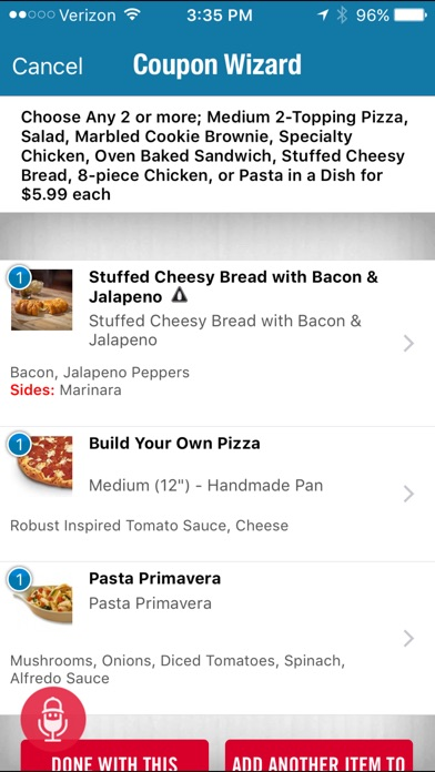 Domino's Pizza USA for Windows