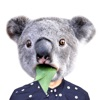動物の顔写真編集アプリ - フォトモンタージュ面白い動物の顔のステッカー - iPadアプリ