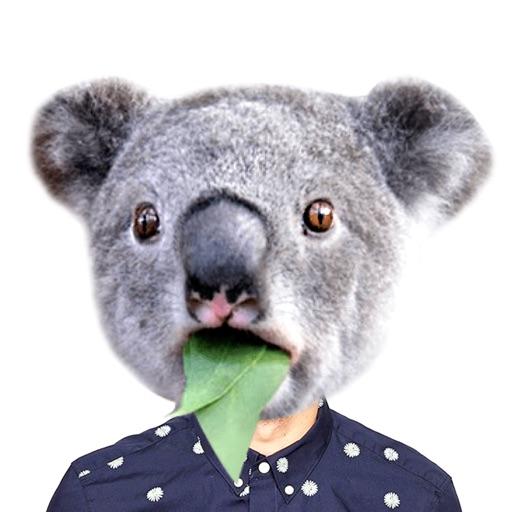 Замена лица животных: фото коллаж редактор