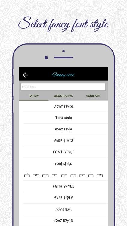 Fancy Text Generator: Write Cool Stylish Text PRO