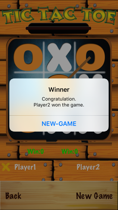 TicTacToe - One & Two Player screenshot 3