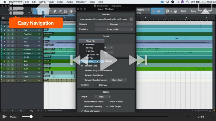 Workflow Course for Studio One screenshot-3