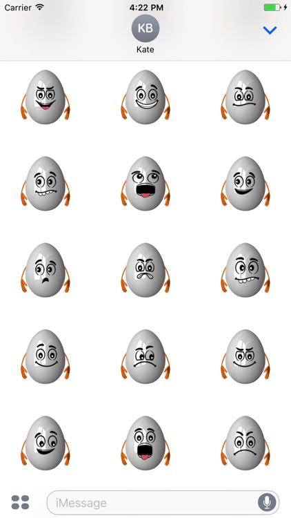 Easter Egg Smileys for iMessage