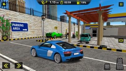 スポーツカーガソリンスタンド駐車場 - 高速道路運転のおすすめ画像3