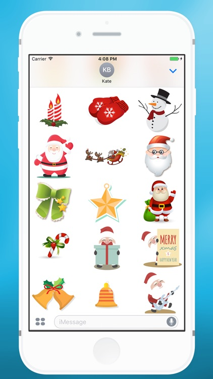 Christmas Items Sticker for iMessage