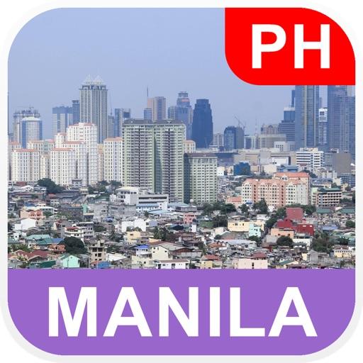 Manila, Philippine Offline Map - PLACE STARS