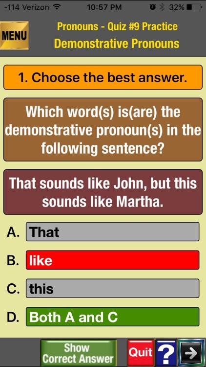 easyLearn Pronouns  in English Grammar