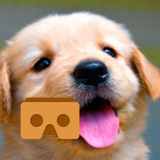 VR Dog Simulator with Google Cardboard icon