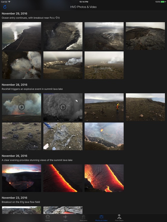 Kīlauea Update Screenshots