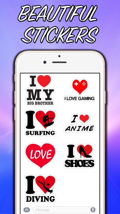Love Stickers Pack!