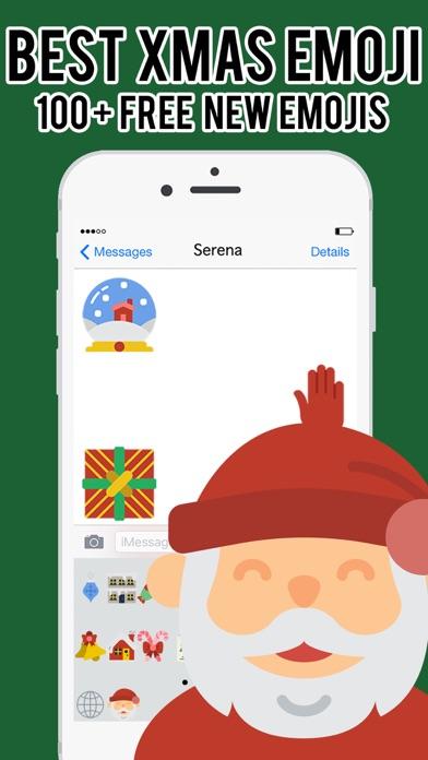 XmasEmoji - Christmas Emojis Stickers Keyboard Pro screenshot three