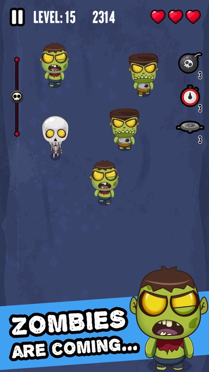 Zombie Invasion - Smash 'em All!