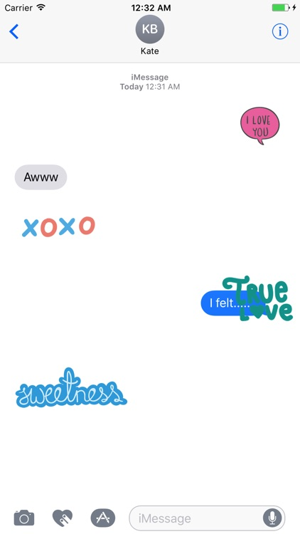 Animated LOVe Scribble Stickers screenshot-3
