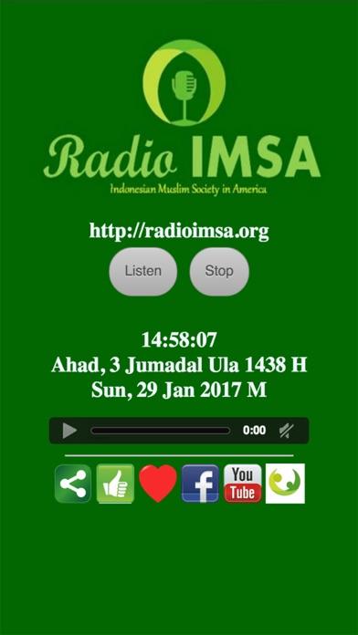 Radio IMSA screenshot one