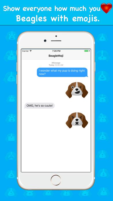 BeagleMoji - Beagle Emoji Keyboard