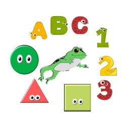 Froggy Free (ABCs,123s and Shapes)
