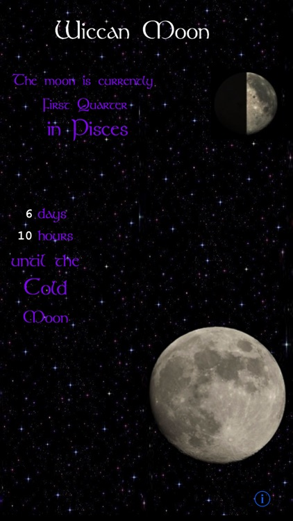 Wiccan Moon