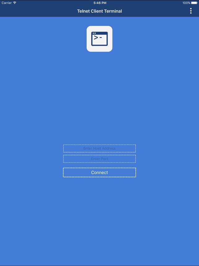 Telnet Client Controller on the App Store