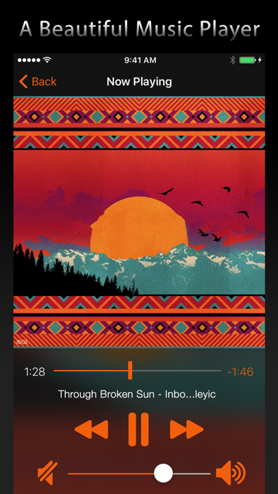Next Play Music - Music Player & Library Manager screenshot two