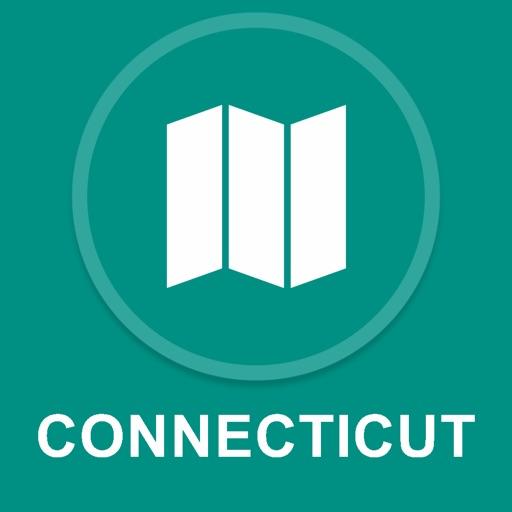 Connecticut, USA : Offline GPS Navigation