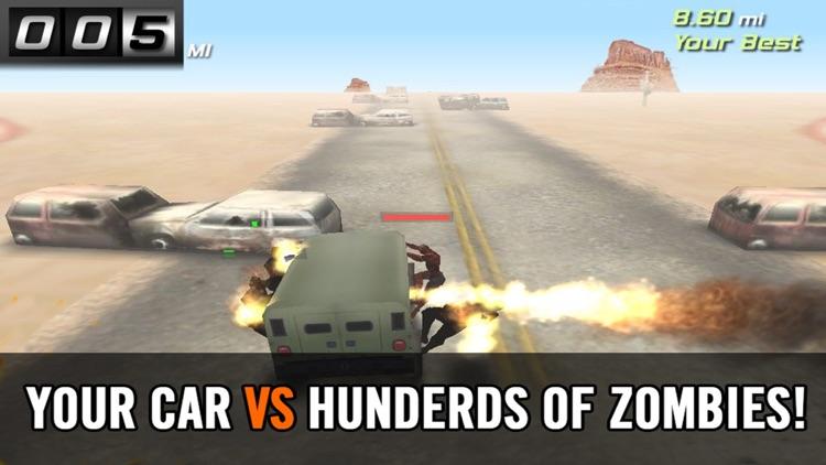 Zombie Smash:Free highway racing & shooting games screenshot-4