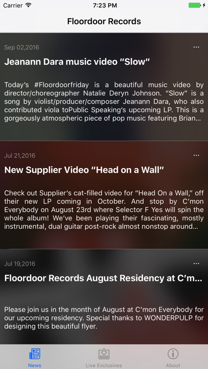 Floordoor Records screenshot-0