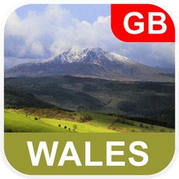 Wales Offline Map - PLACE STARS