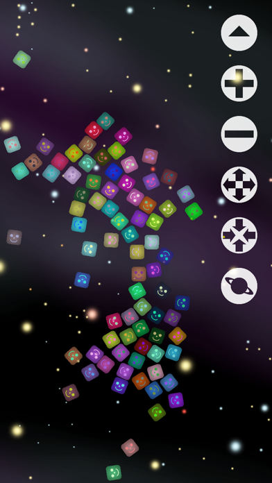 Jelly Cubes - An Outer Space Adventure screenshot one