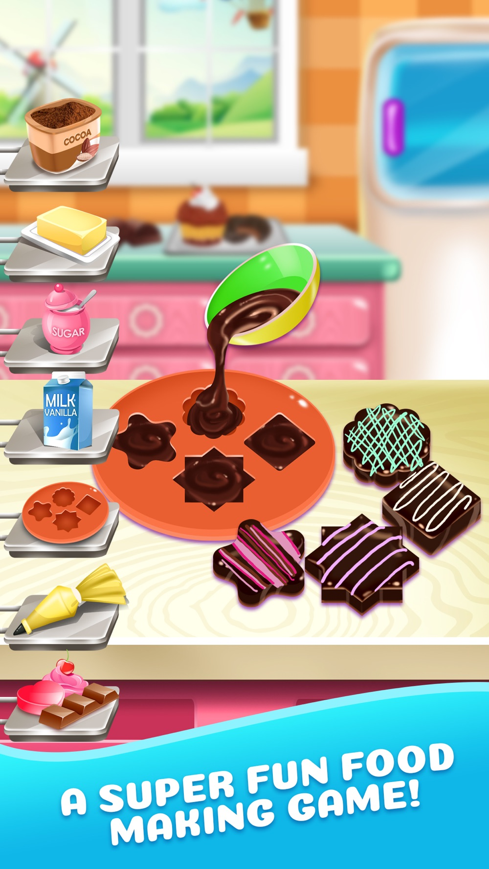 Dessert Food Maker Cooking Kids Game Cheat Codes