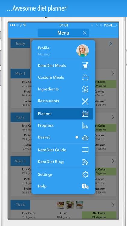 KetoDiet app image