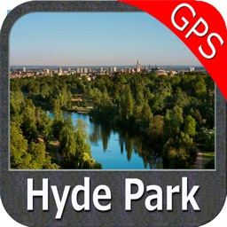 Hyde Park (London) - GPS Map Navigator