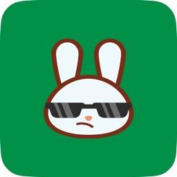 Funny Bunny Emoji Pack