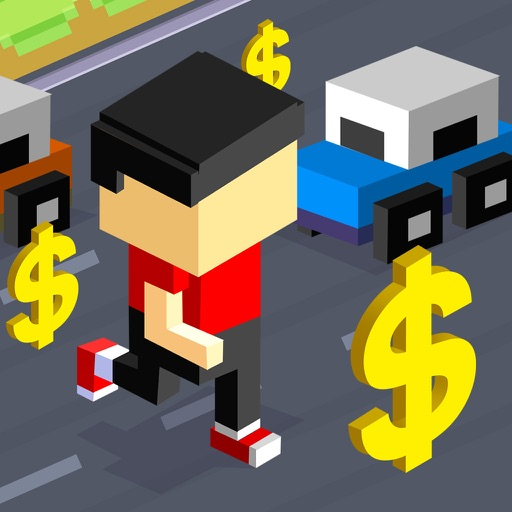 Cash Cross Run - Real Money Multiplayer Game icon