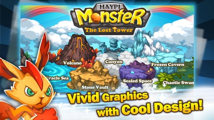 Haypi Monster:The Lost Tower for Venide screenshot-3