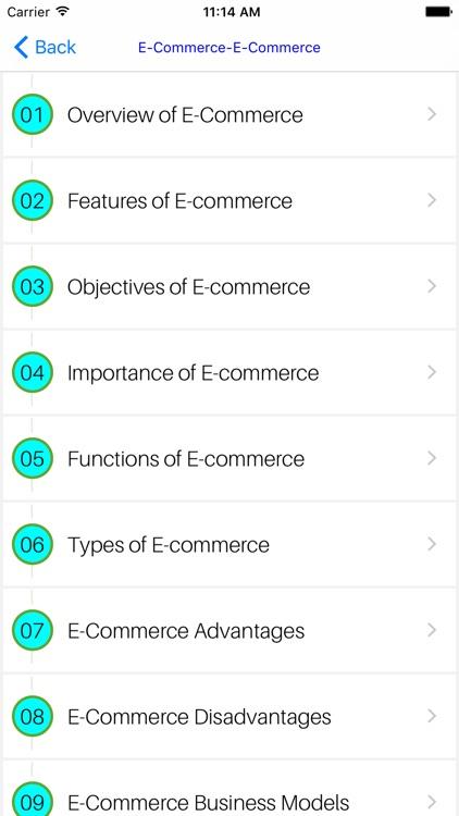 MBA E-Commerce screenshot-3