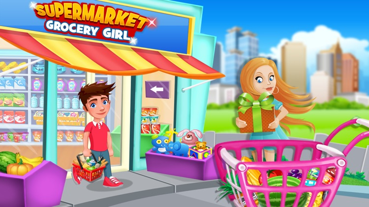 Supermarket Grocery Girl - Kids Shopping Games screenshot-0