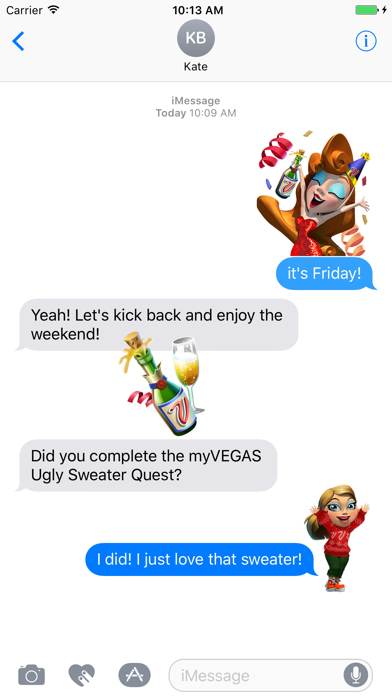 myVEGAS Stickers Screenshot