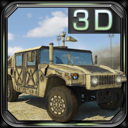 Военный Грузовик 3D Парковка