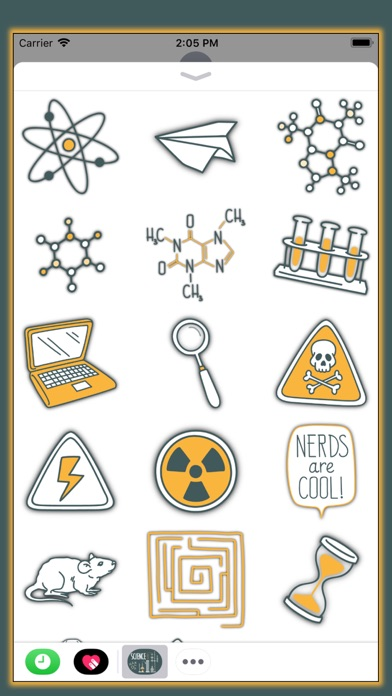 All About Science - Stickers