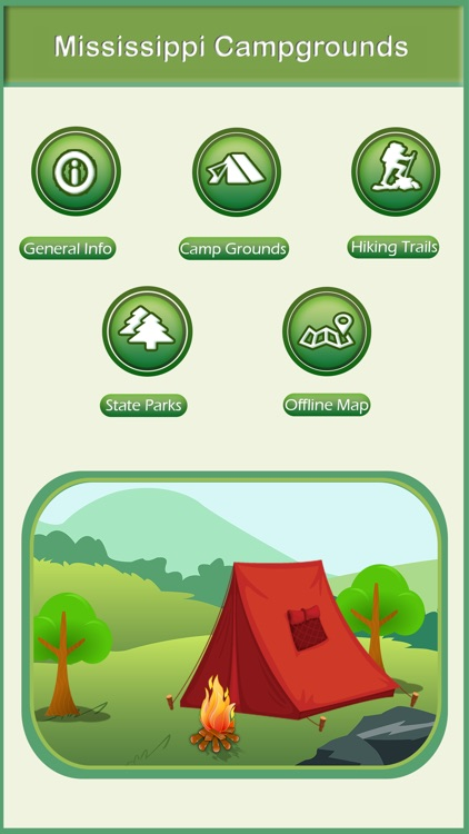 Mississippi Camping & Hiking Trails