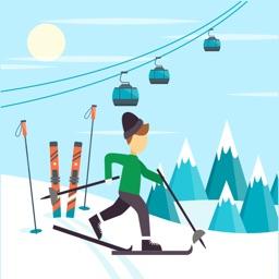 冰山冒险 - 来一场滑雪大冒险