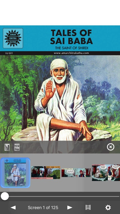 Tales of Saibaba (Shirdi Saint)- Amar Chitra Katha screenshot-0