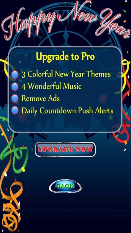Happy New Year Countdown Begins Free screenshot-3
