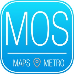 Moscow Travel Guide and Offline Metro Map
