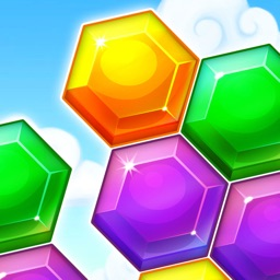 Block Hexa Word Brain - Cookies Blocks Puzzle